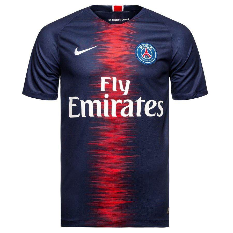 Paris Saint German PSG Home Jersey 2018 2019 Navy Blue France Ligue 1 2018  df13b69f5