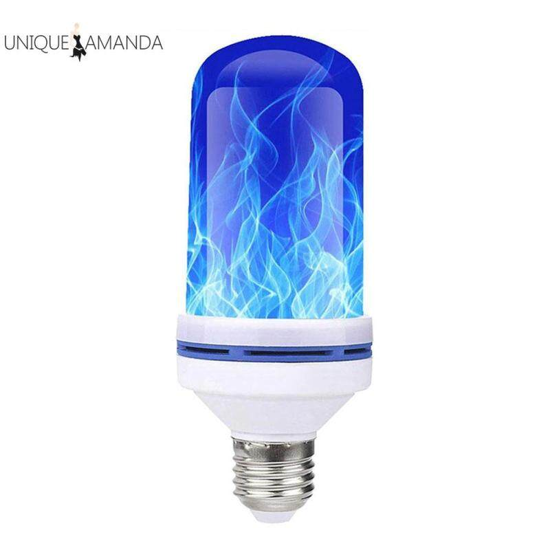 E27 Hiệu Ứng Ngọn Lửa Bóng Đèn LED Nhấp Nháy Lửa Thi Đua Đèn Trang Trí