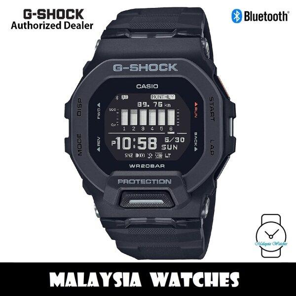 (OFFICIAL WARRANTY) Casio G-Shock GBD-200-1 G-SQUAD Digital Bluetooth Step Tracker Black Resin Watch GBD200 GBD200-1 GBD-200-1DR Malaysia