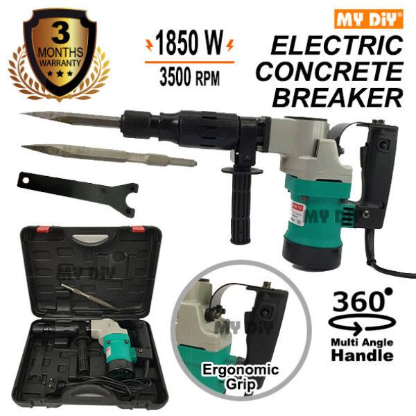 MYDIYSDNBHD - MOSTAZ Demolition Hammer 0810 1850W 220V Electric Concrete Breaker Hacker ( Warranty 3 Months)