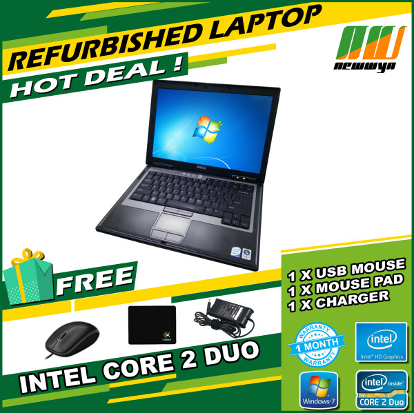Dell Latitude D620/Intel Core 2 Duo T5600@1.83GHz/2GB RAM/60GB HDD [Refurbished] Malaysia