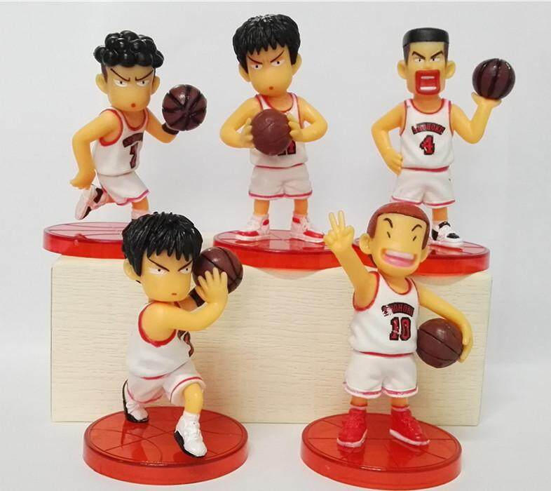 High quality master toy red and white color clothing team doll cake decoration ornaments anime doll