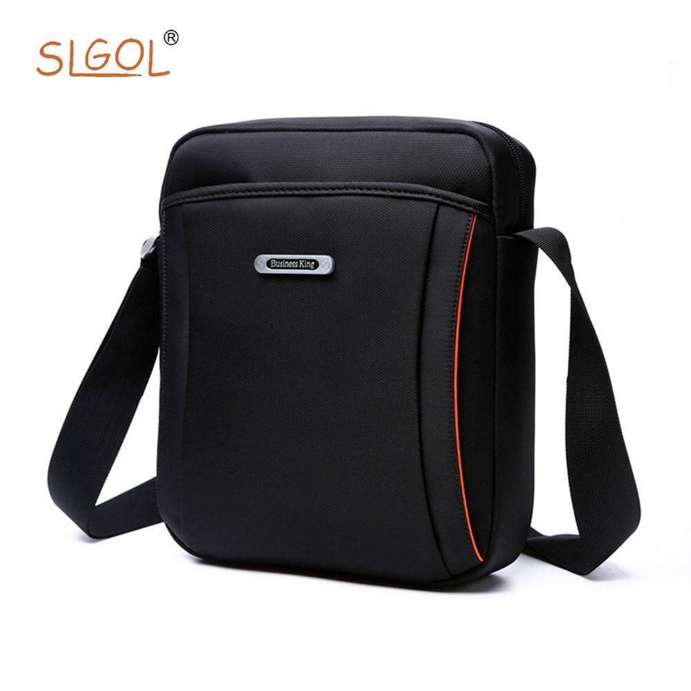 Mens Messenger Bag, SLGOL Multifunction Portable Large Capacity Tote Bag Mens Briefcase Business Nylon Shoulder Bag