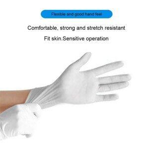 AM Rubber Dùng Một Lần Thoải Mái Cơ Khí PVC Găng Tay Găng Tay Thi Găng Tay 100PC thumbnail