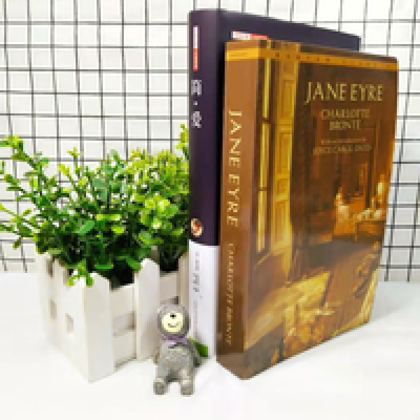 Chinese + English Full Two Jane Jane Eyre English Novels in the World Famous Literary Original
