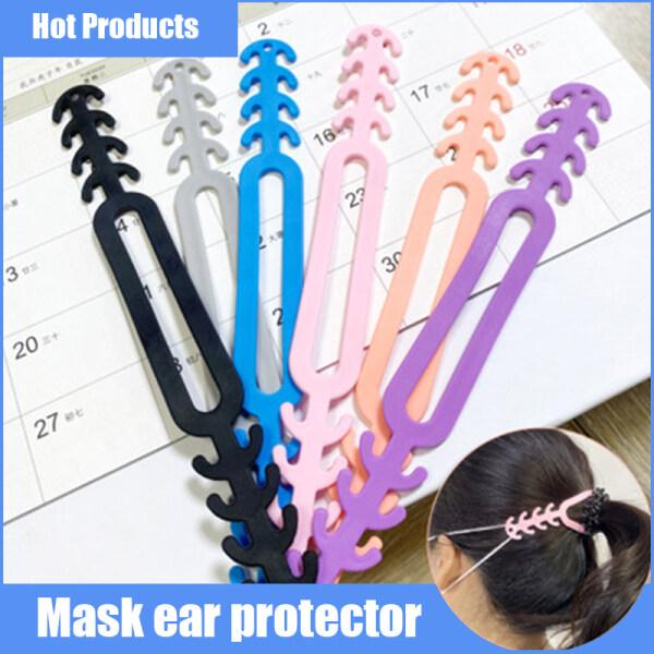 Mask Extender Extension Mask Connector Mask Hook Clip Ear Hook Mask Painless Non Slip Mask Suitable for Men and Women 1PC 口罩延长带 耳挂口罩带 无疼防滑
