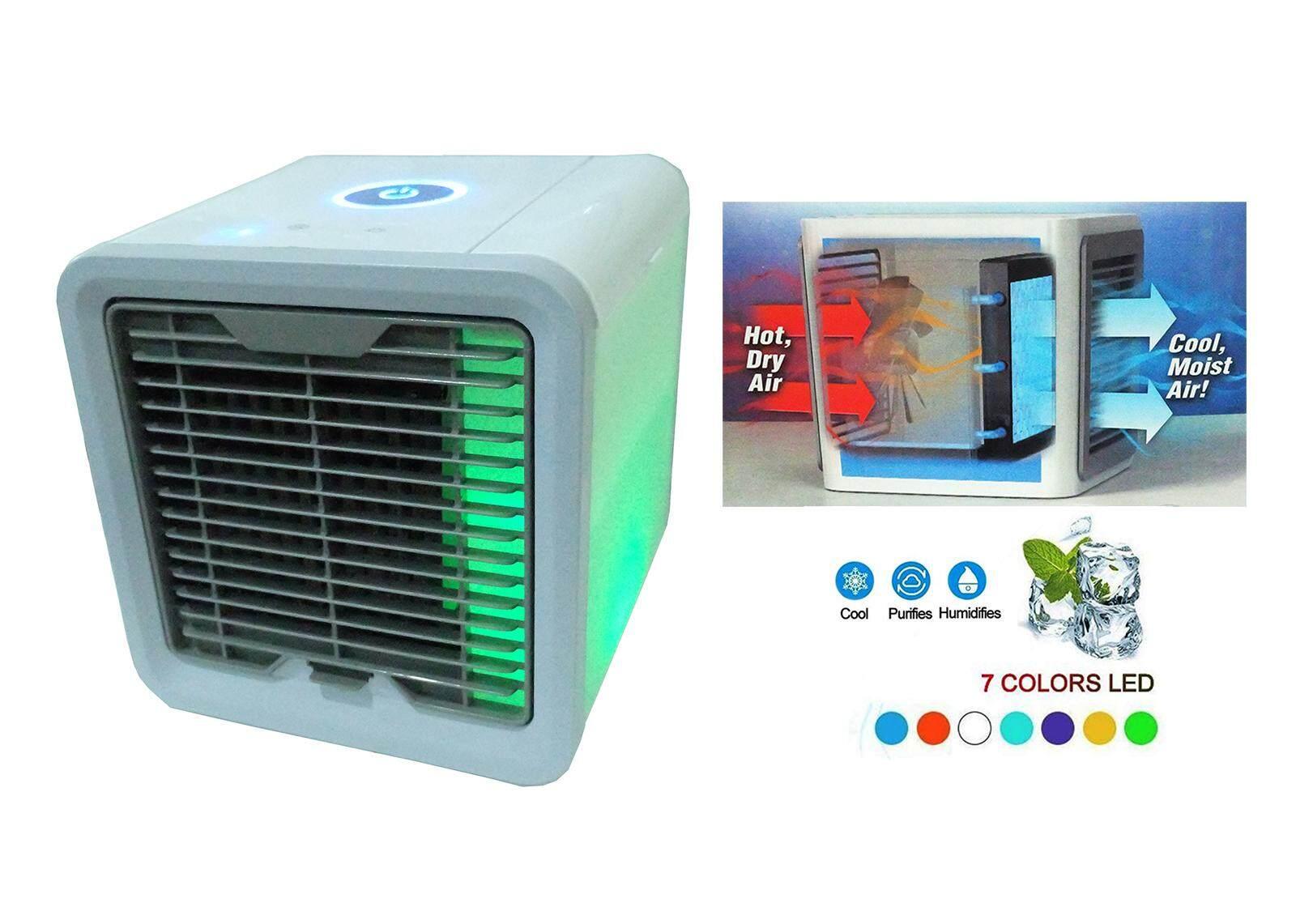 4e160d6a993 Portable Mini Air Cooler Air Conditioner Artic Air Powered by USB Port
