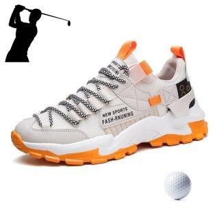 Giày Đi Bộ Lưới Thoáng Khí Mới Người Đàn Ông Golf Sneakers Giày Chơi Gôn Phong Cách Mới Giày Thể Thao Nam Cao Cấp Trọng Lượng Nhẹ thumbnail