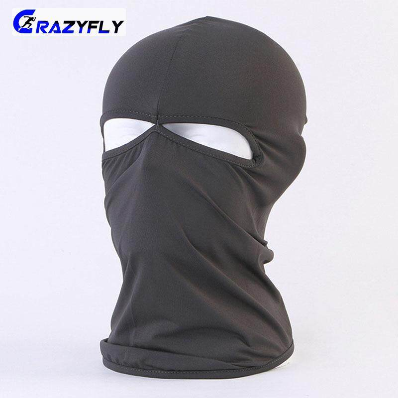 Crazyfly Full Face Mask Dustproof Balaclava Hood Neck Warmer Windproof Masks for Motorcycle Cycling Skiing