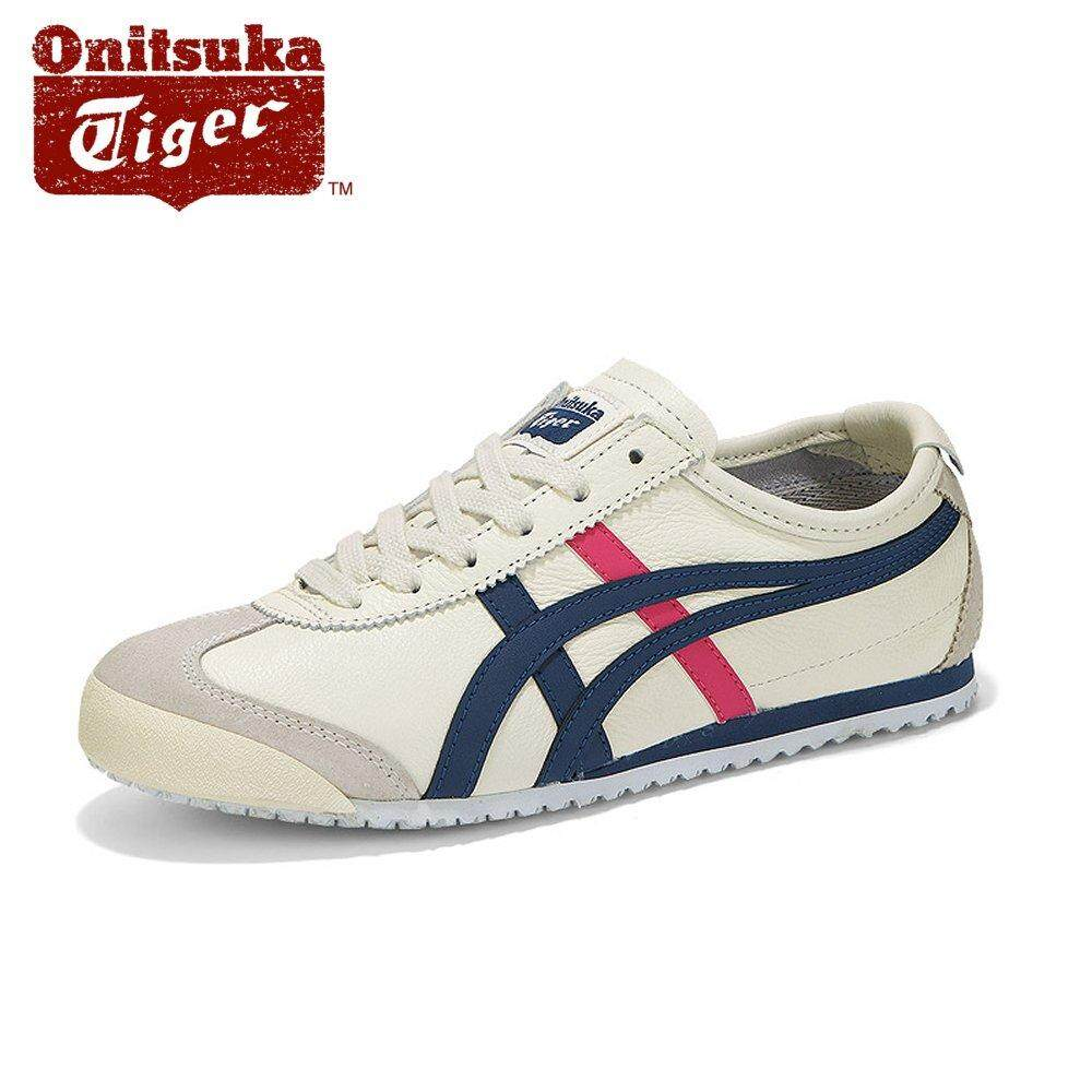 huge discount 09211 f828d Onitsuka Tiger New Women's Mexico 66 1182A078_103 Cream/Midnight Blue