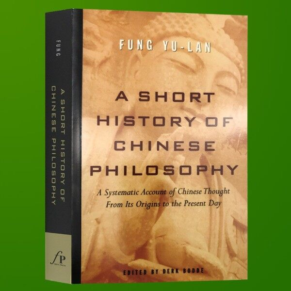 Spot New Books A Brief History of Chinese Philosophy English Original A Short History of Chinese Philosophy