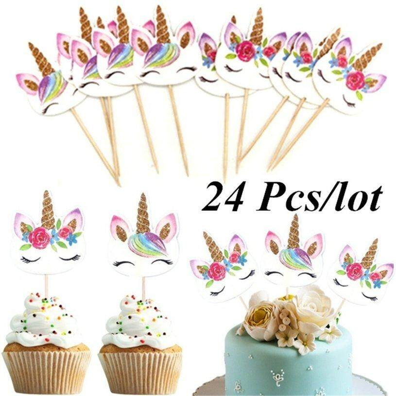 Wedding & Anniversary Bands Symbol Of The Brand 2 Bags Basketball Shaped Cake Toothpick Birthday Cake Decor Inserted Card Insert Sign For Children About