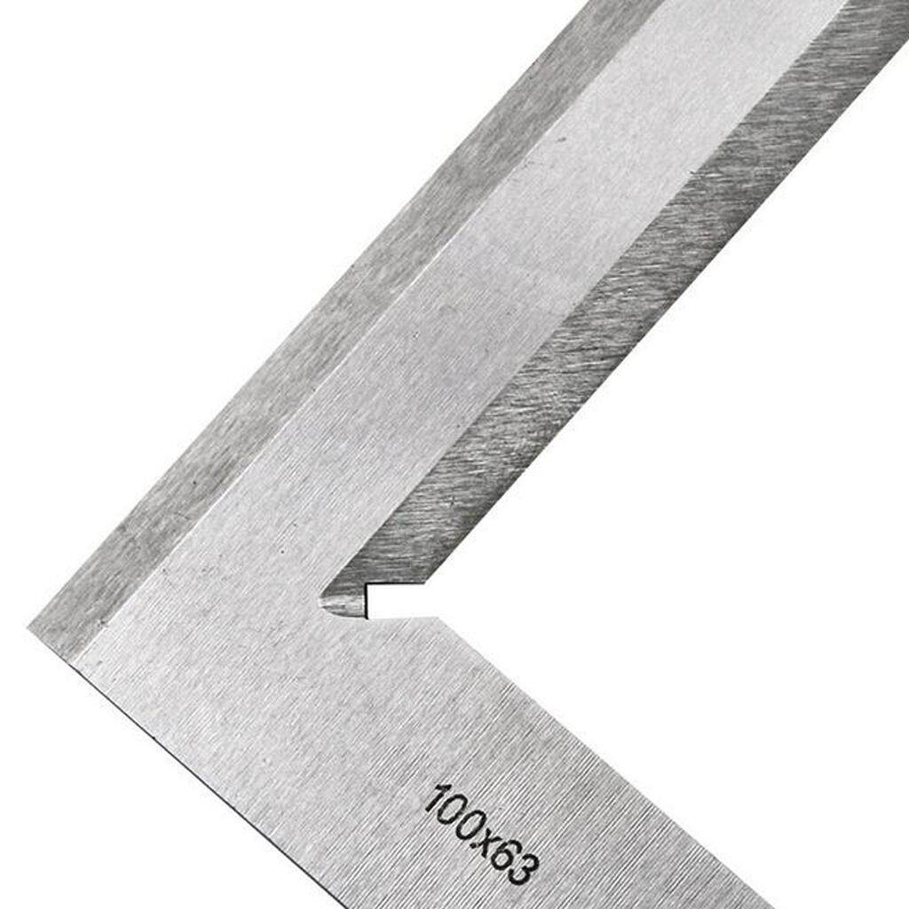 BolehDeals Harden Steel L Shaped 90 Degree Angle Try Square Ruler