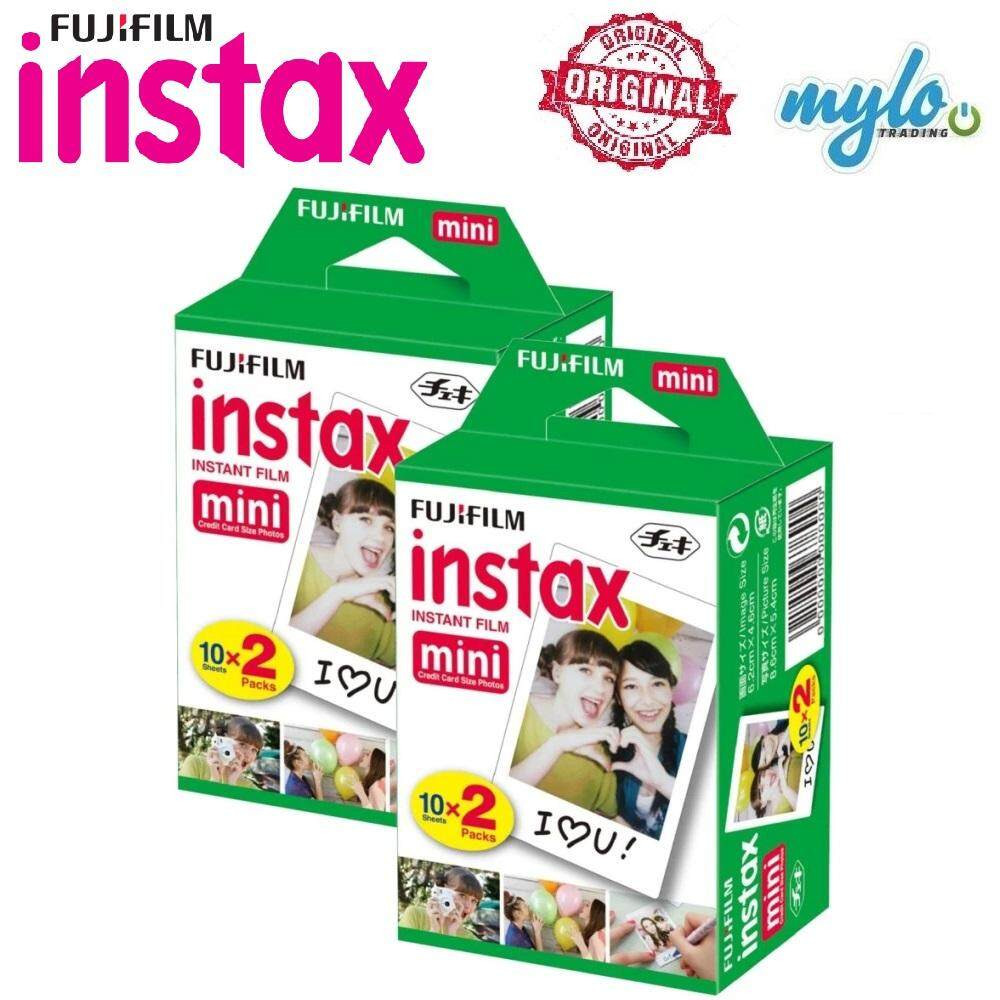 Fujifilm Instax Mini Instant Film (40 Exposures) By Mylo Trading Online Store.