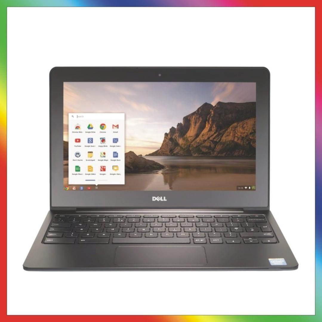 Dell ChromeBook 11 -Intel Celeron 2955U, 4GB RAM, 16GB SSD, WebCam, HDMI, (11.6 HD Screen 1366x768) (Renewed) Malaysia
