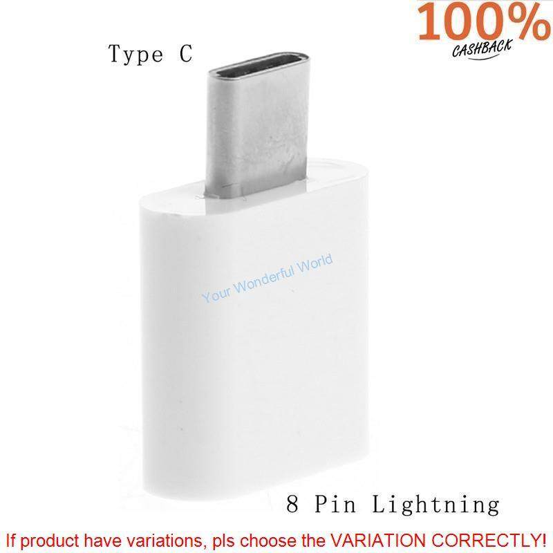 8 Pin Lightning Female To Type C Male Adapter Converter For Lg Oneplus Huawei Yw By Cheap & Good Shop.