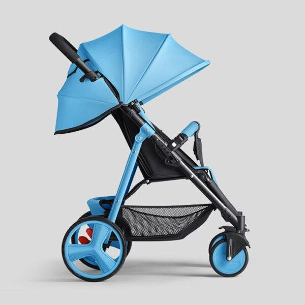 Sld Baby Stroller Lightweight Stroller Can Take The Plane Can Be Folded Ggood Value For Money, Small And Exquisite Singapore