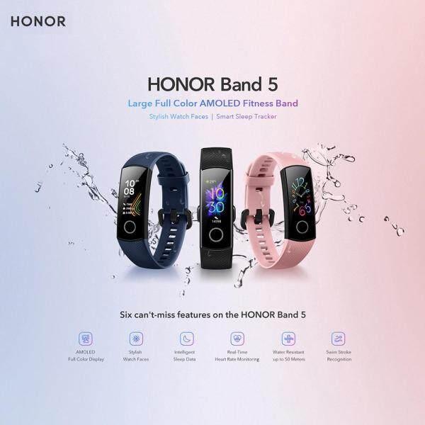 Đồng Hồ Thông Minh Honor Band 5 BT 4.2 Đồng Hồ Đeo Tay Nhiều Chế Độ Thể Thao