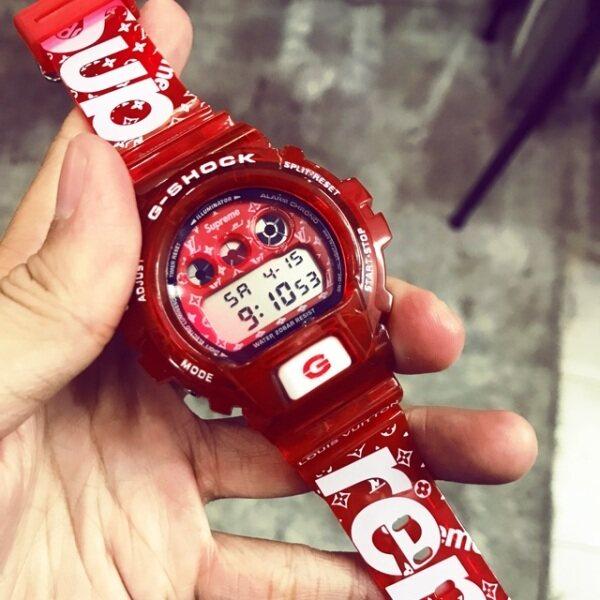 Casio_G_Shock_DW6900 Supreme Watch For Men (Cermin Kaca) Malaysia