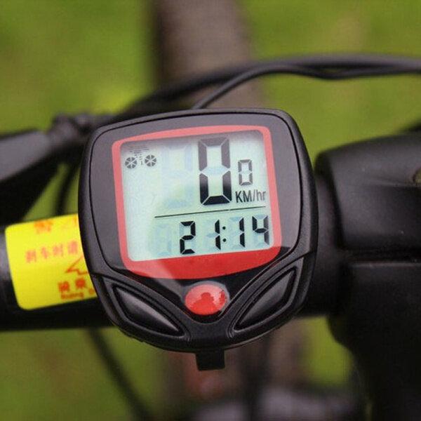 Xe Đạp Đồng Hồ Tốc Độ Máy Tính Với Màn Hình LCD Hiển Thị Kỹ Thuật Số, Xe Đạp Đo Dặm Speedometer Không Thấm Nước Có Dây Đồng Hồ Bấm Giờ, Phụ Kiện Xe Đạp