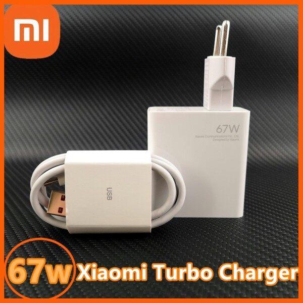 Bộ Sạc Turbo Xiaomi Mi 67W EU Chính Hãng Bộ Sạc Nhanh Bộ Cáp Sạc 6A USB Type-C Cho Xiaomi 11 Pro & Xiaomi 11 Ultra 36 Phút Sạc Đầy Cho
