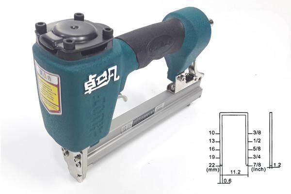 millionhardware - Zhuofan 1022j Carpenter Air Pneumatic Nail Stapler Gun / Nailer Stapler Gun Woodworking Air Stapler Nails Home DIY Carpentry Decoration