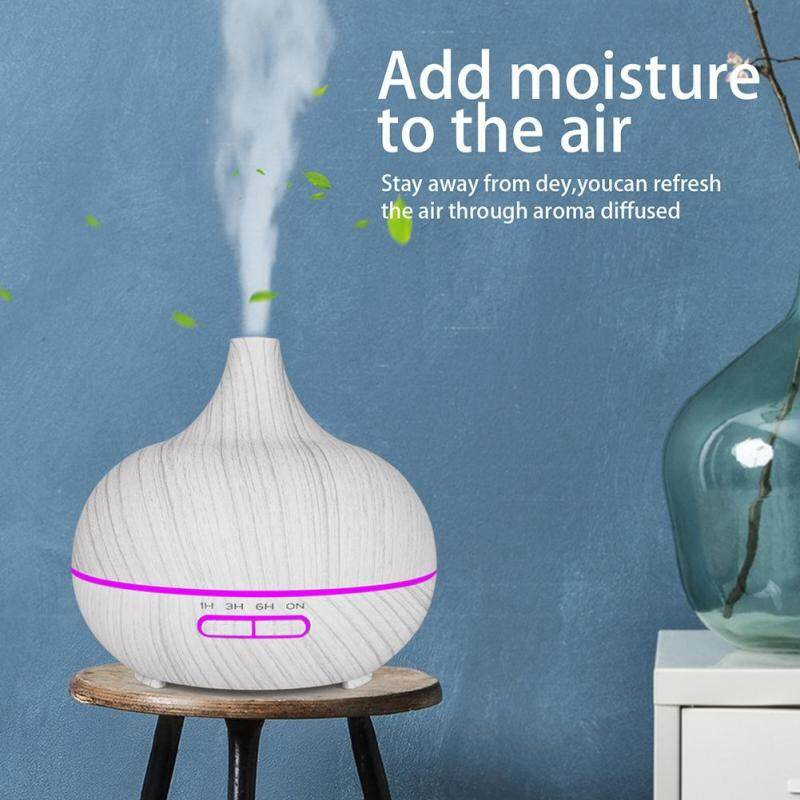 〔questionno〕400ml Ultrasonic Timing Air Humidifier Essential Oil Mist Aroma Diffuser(READY STOCK & COD & LOW PRICE & HIGH QUALITY) Singapore