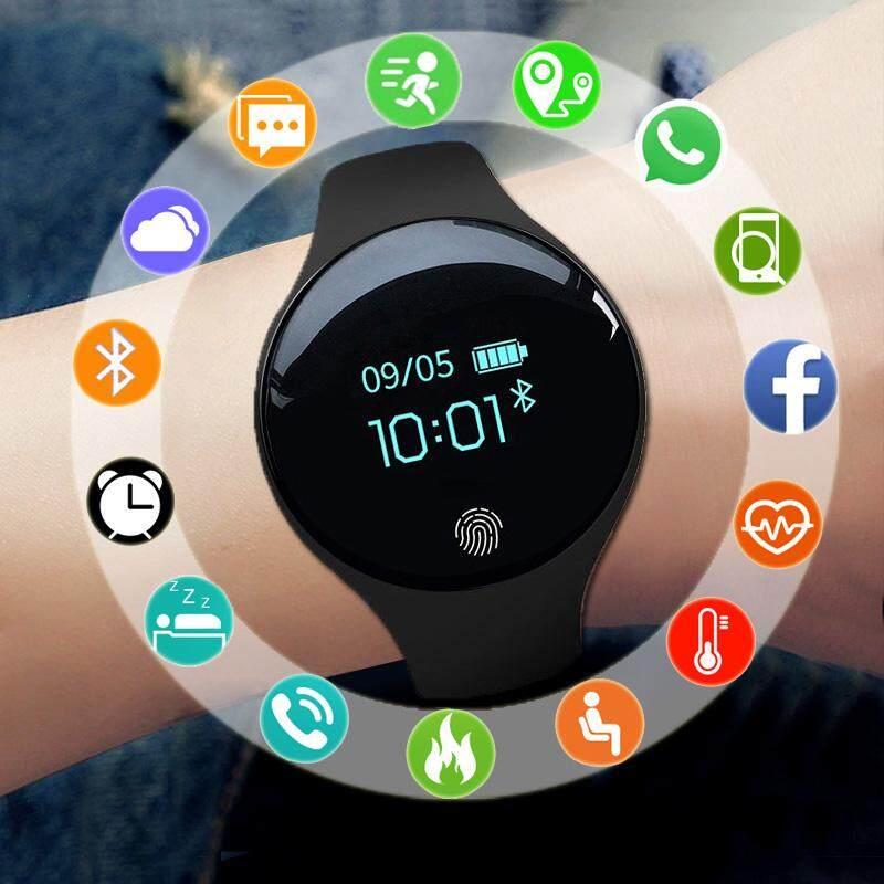 Giá Wemitom Bluetooth Thông Minh Dành Cho IOS Android Nam Nữ Thể Thao Thông Minh Đo Quãng Đường Đi Vòng Tay Thể Thao Đồng Hồ Dành Cho iPhone Đồng Hồ Nam