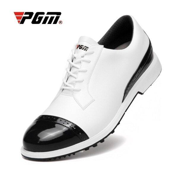 Giày chơi golf PGM cho nam, giày thể thao chơi gôn, thoải mái, chống trượt, chống thấm nước và có đinh