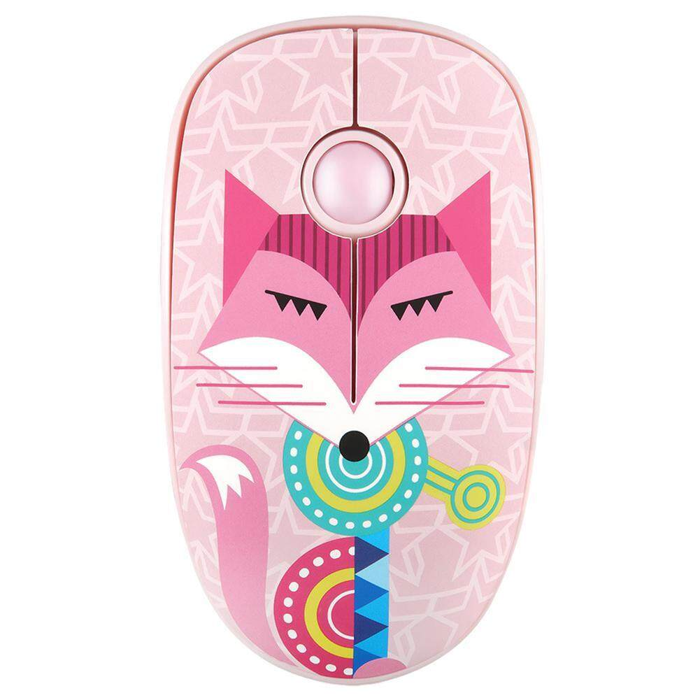 FD V8 Cute 4 Keys 2.4GHz Wireless R250 High Speed 1600 DPI Adjustable Mouse Malaysia