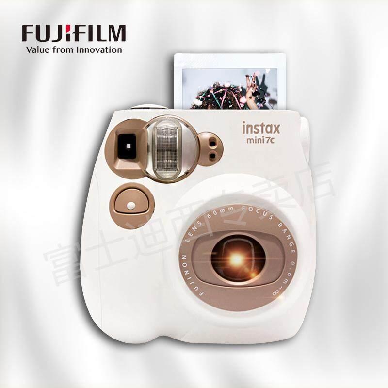 Hadiah Ulang Tahun Fuji Kamera Instax Mini 7C Bodoh Mini 7 S Paket Upgrade dengan Polaroid Kertas Foto