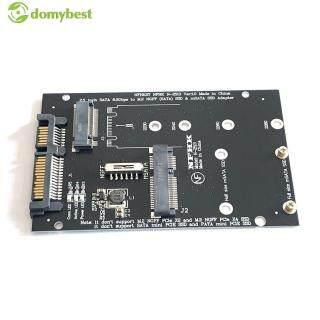Bộ Chuyển Đổi M.2 MSATA SSD Sang SATA 7 15 Chân 2.5 Inch Thông Dụng Bộ Chuyển Đổi Thẻ 2 Trong 1 Chịu Nhiệt thumbnail