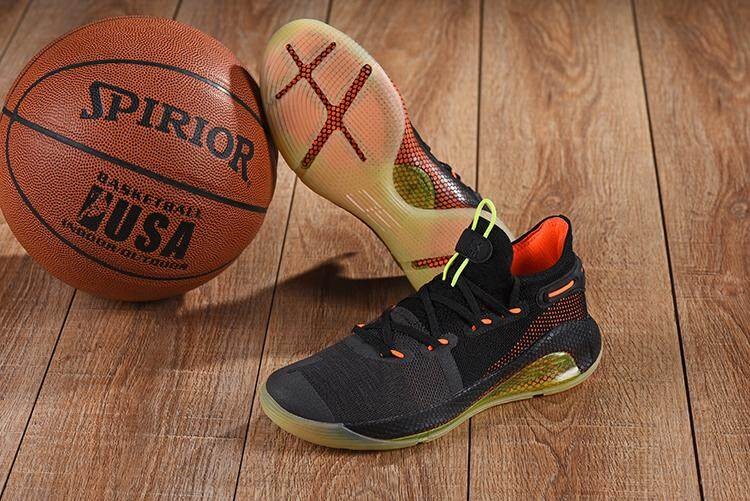 Under Armour Official Curry 6 Low Top MEN Basketaball Shoe Dark Blue Gold  Global Sales 958279a301