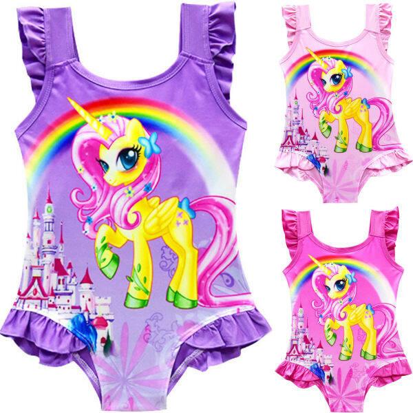 Giá bán Đồ bơi Kingstar liền thân một mảnh họa tiết hoạt hình kỳ lân phù hợp cho bé gái từ 3 - 10 tuổi