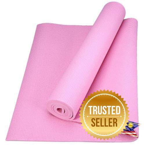173 X 61 X 0.6cm Pvc Yoga Mat Thick Exercise Fitness Nonslip Gym Cushion (light Pink) By Dream Happy Shop.