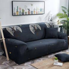 (Hàng Sẵn Có) Tấm Phủ Bọc Ghế Sofa 1/2/3/4 Bọc Ghế Sofa Chống Trượt Kéo Dài Bảo Vệ Couch Đệm Trượt Một Bọc Ghế Sofa Một Trường Hợp Gối Miễn Phí Với Thanh Xốp