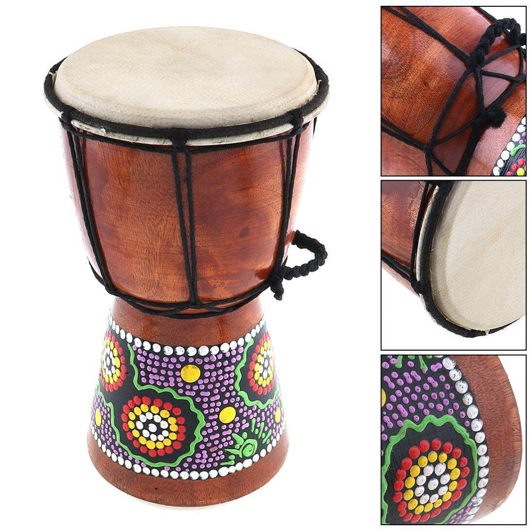 SLADE 4 Inch Professional African Djembe Drum
