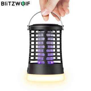 BlitzWolf Đèn Diệt Muỗi BW-MLT1 Đèn Bẫy Côn Trùng Đèn UV Đèn Làm Việc Cắm Trại Tiện Dụng 3 Chế Độ Trong Nhà & Ngoài Trời thumbnail