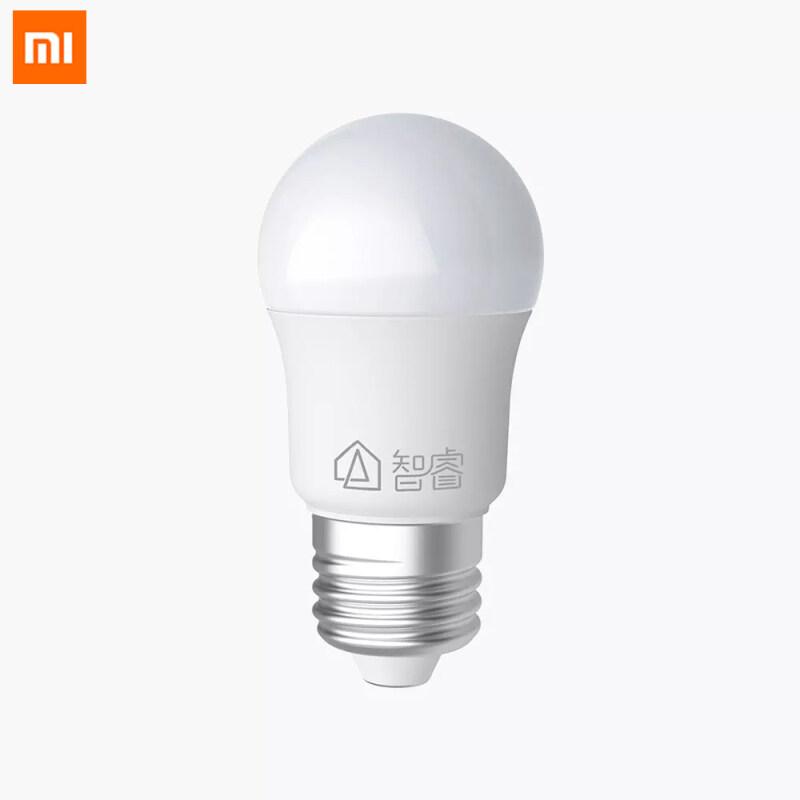 Xiaomi Mijia Zhirui LED Bulb E27 Universal Large Screw White Light 6500K 5W Energy Saving For Ceiling Lamp/ Table Floor Lamp Short Circuit Protection