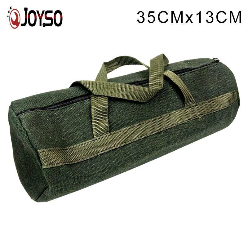 JOYSO Thick Canvas Pouch Bags Storage Organizer Instrument Case Portable for Electrical Tool