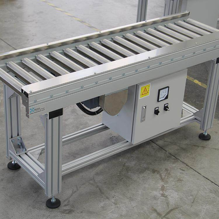 Package Transmission Equipment powered Stainless Steel Roller conveyor, motorized roller conveyor, chain conveyor