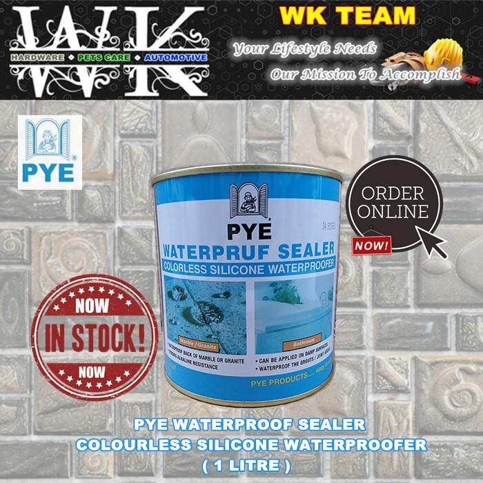 WATERPROOF SEALER - COLOURLESS SILICONE WATERPROOFER ( 1 LITRE )