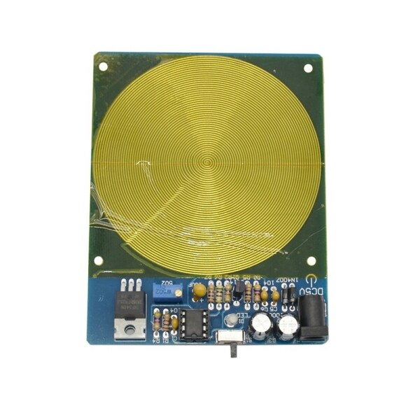 Dc 5V 7.83Hz Precision Schumann Resonance Ultra-Low Frequency Pulse Wave Generator Audio Resonator with Box Finished Board Malaysia
