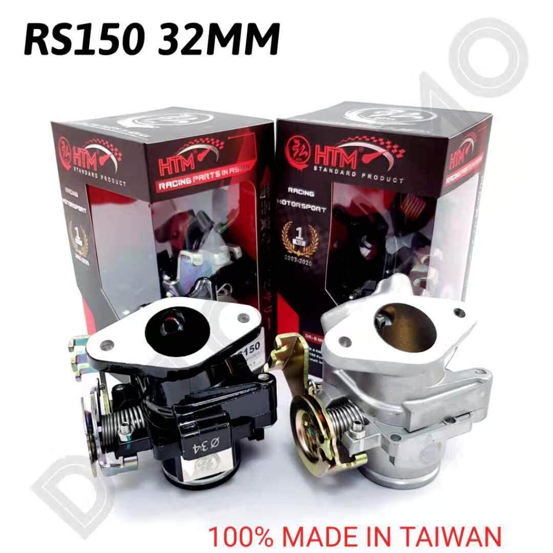 "RS150 HONDA THROTTLE BODY HTM RACING - 32MM 34MM 36MM 38MM ""DOTOMOMO"""