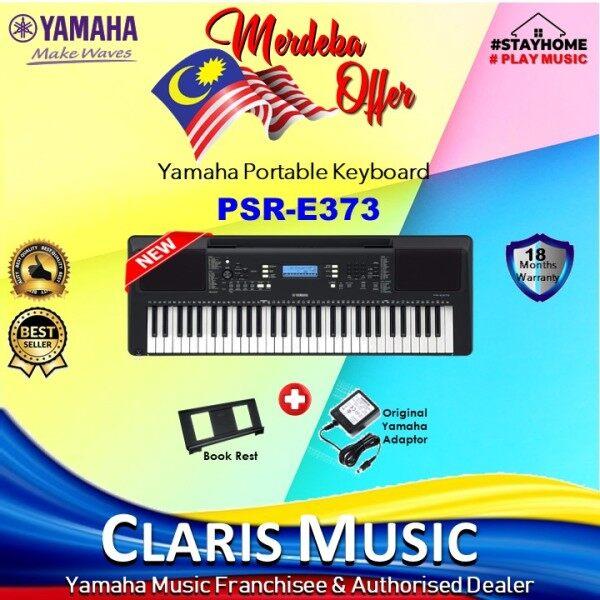 Claris Music Yamaha PSR-E373 Portable Keyboard-NEW UNIT! (PSRE373 / PSR 373 / PSR-E373 / PSR / PSR373 / Psre373/ PSR ) Malaysia