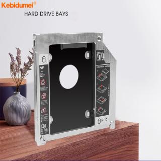 Kebidumei Bộ Chuyển Đổi Caddy Ổ Cứng SSD SSD SATA 2nd 2.5 Inch 9.5Mm Dành Cho MacBook Pro , Unibody A1278 A1286 A1297 CD ROM Khoang Quang thumbnail