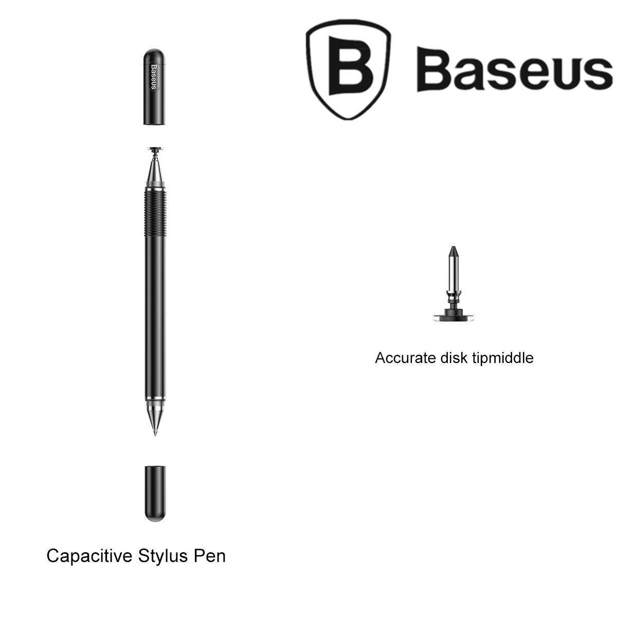 BASEUS 2-in-1 Capacitive Touch Screen Pen Drawing Gaming Writing for Mobile Phone / Tablet