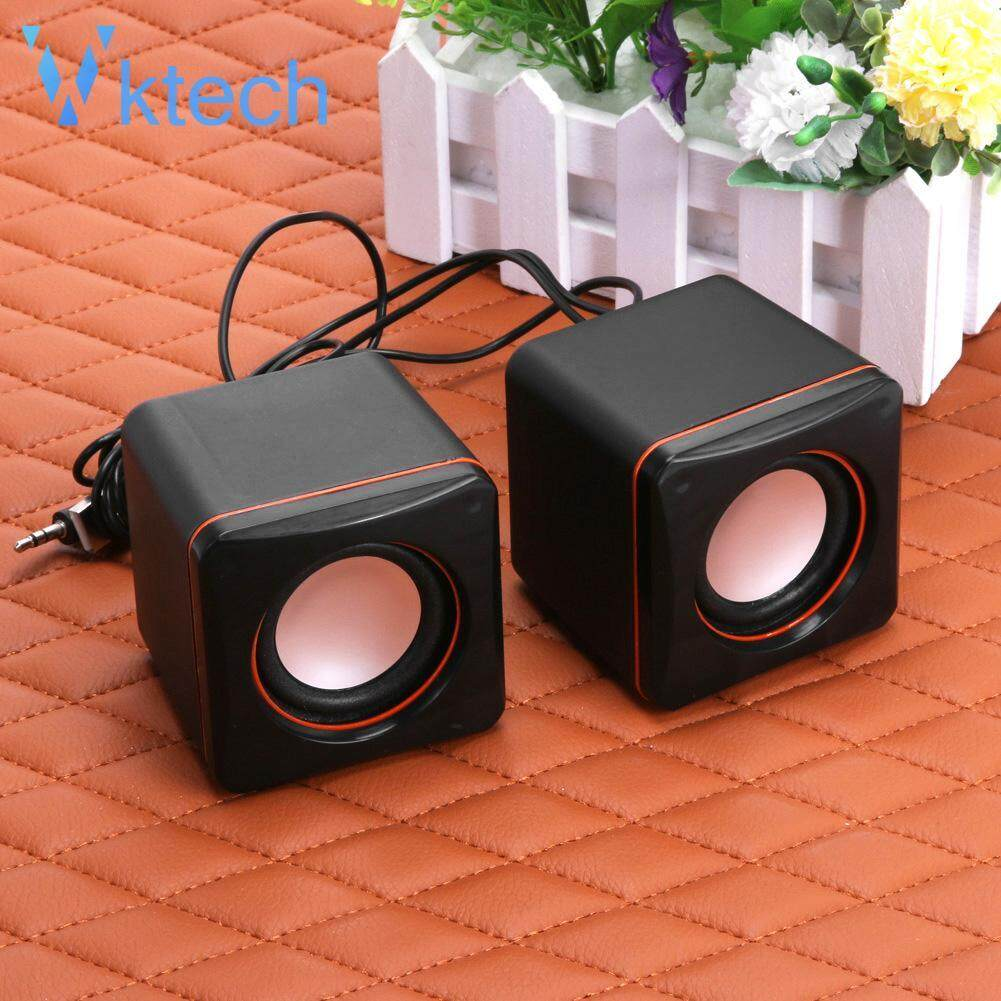 [Vktech] USB 2.0 Notebook Desktop Portable Mini Audio Speaker Subwoofer for Laptop Malaysia
