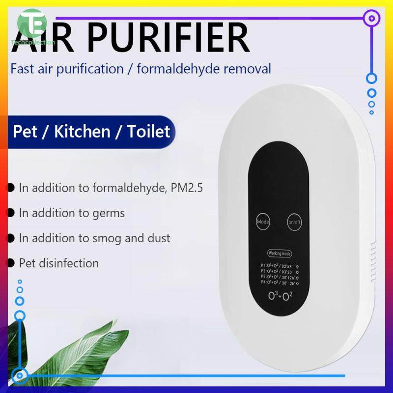 【Techcollection】Ozone Air Purifier Anti Bacteria Formaldehyde Odor Remover for Bathroom Kitchen Singapore