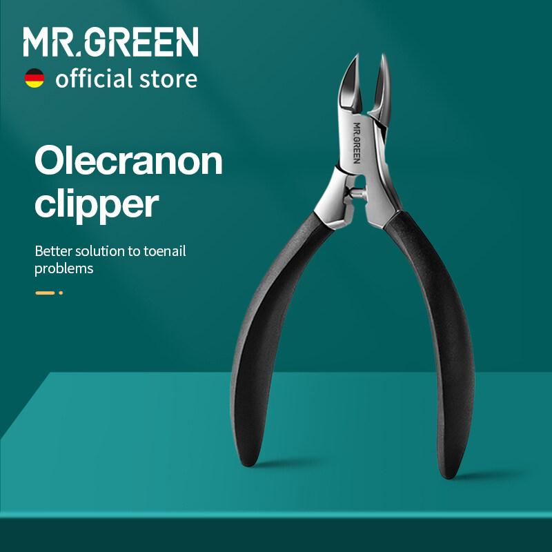 MR.GREEN Ingrown Nail Clippers Móng Chân Cắt Thép Không Gỉ Pedicure Cụ Dày Toe Nail Chỉnh Sửa Sâu Vào Rãnh Móng Tay